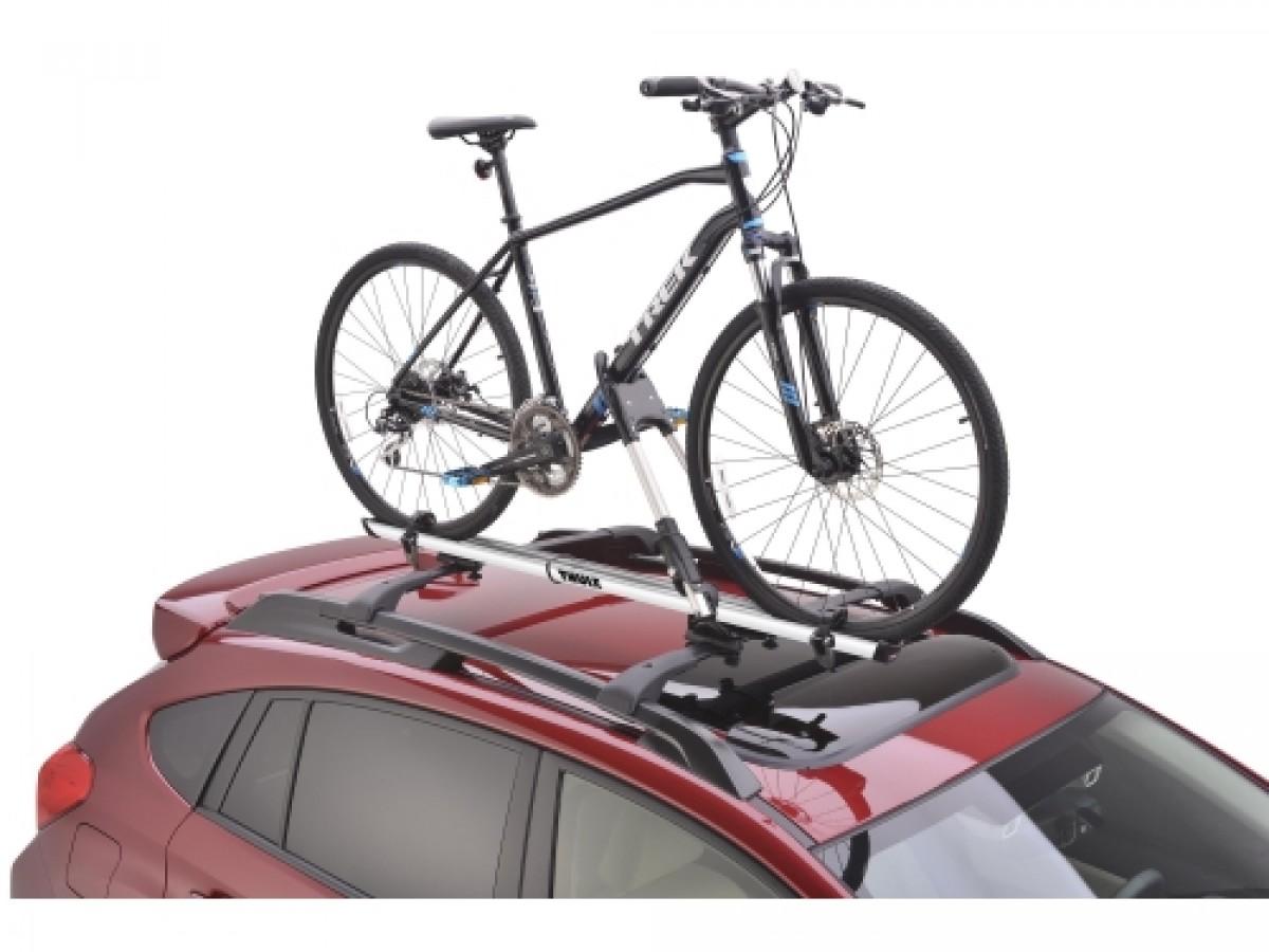 Subaru Thule Bike Carrier Roof Mounted Part No Soa567b020